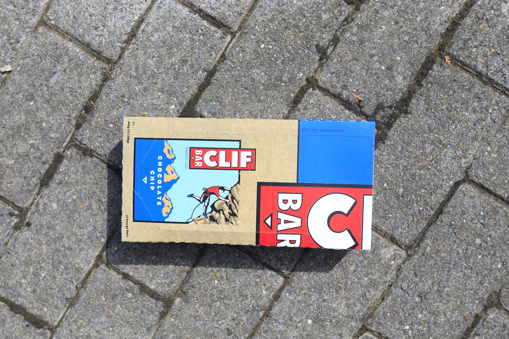 I did manage to get my hands on some Clif Bars.