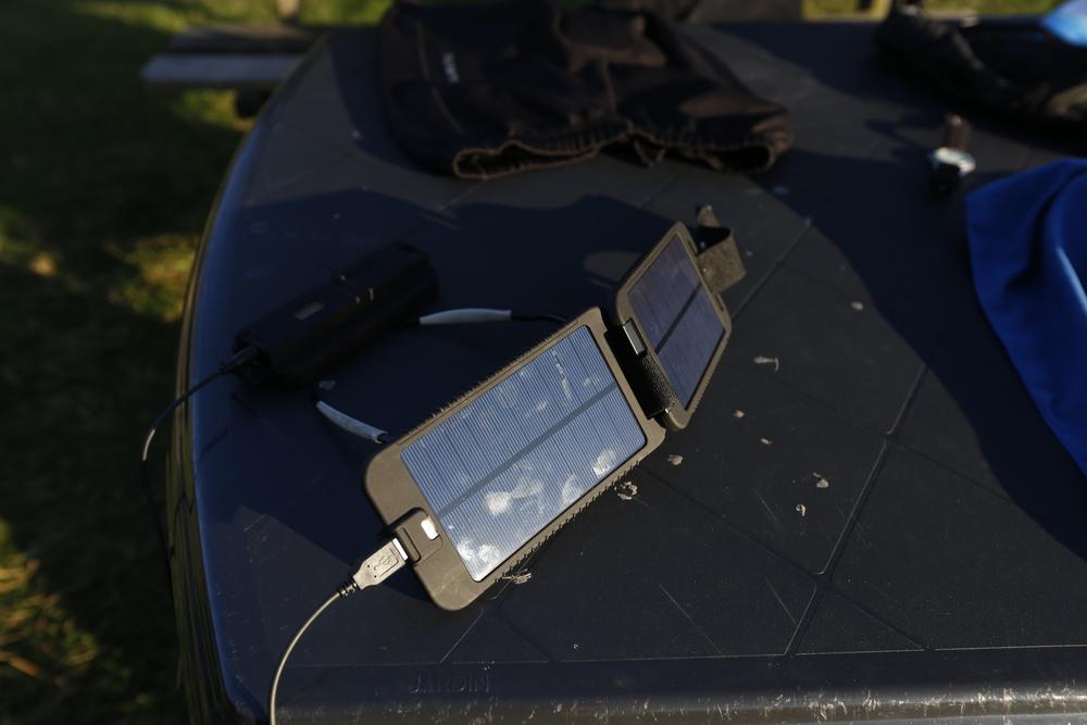 Powermonkey extreme   solar charger.