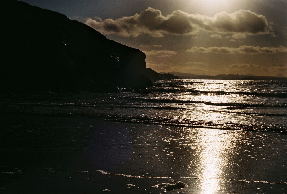 sea, irish sea, ireland, beach, bikepacking, bikepacking blog, photography, photography blog, bicycle touring apocalypse, travel, explore, 35mm, canon, canon ae-1, canon film camera, film camera,