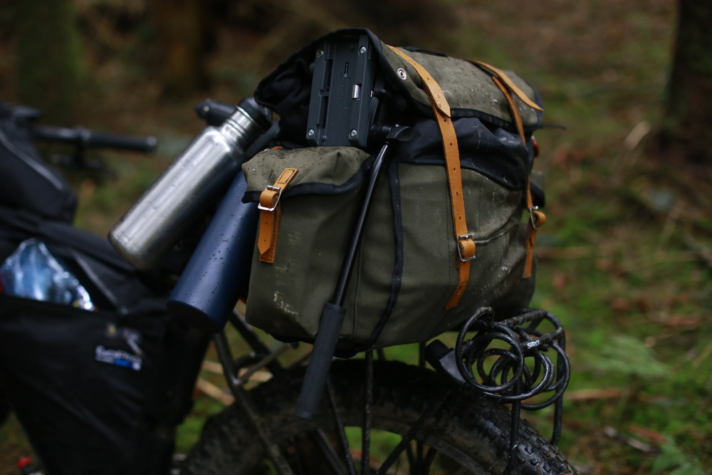 carradice, carradice longflap camper, carradice.co.uk, carradice.com, carradice bags of nelson, bikepacking, bikepacking bags, bikepacking blog, surly, surly ecr, tripod, travel tripod, explore, bicycle touring apocalypse, brooks, brooks saddles