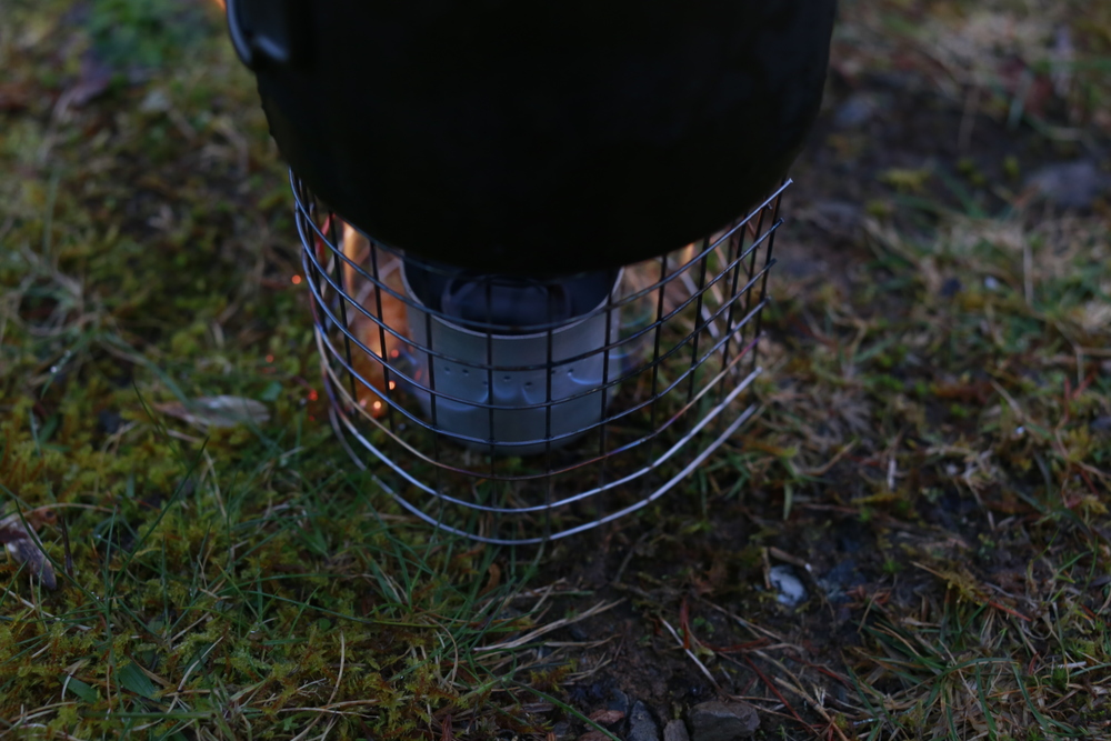 The 22g Meth stove from Bear Bones Bivvy Gear is very well priced, extremely lightweight & performed flawlessly.