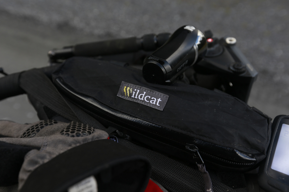 The Wildcat Gear Tom Cat is another very handy bag and fits ingeniously within the Jones H Bar.