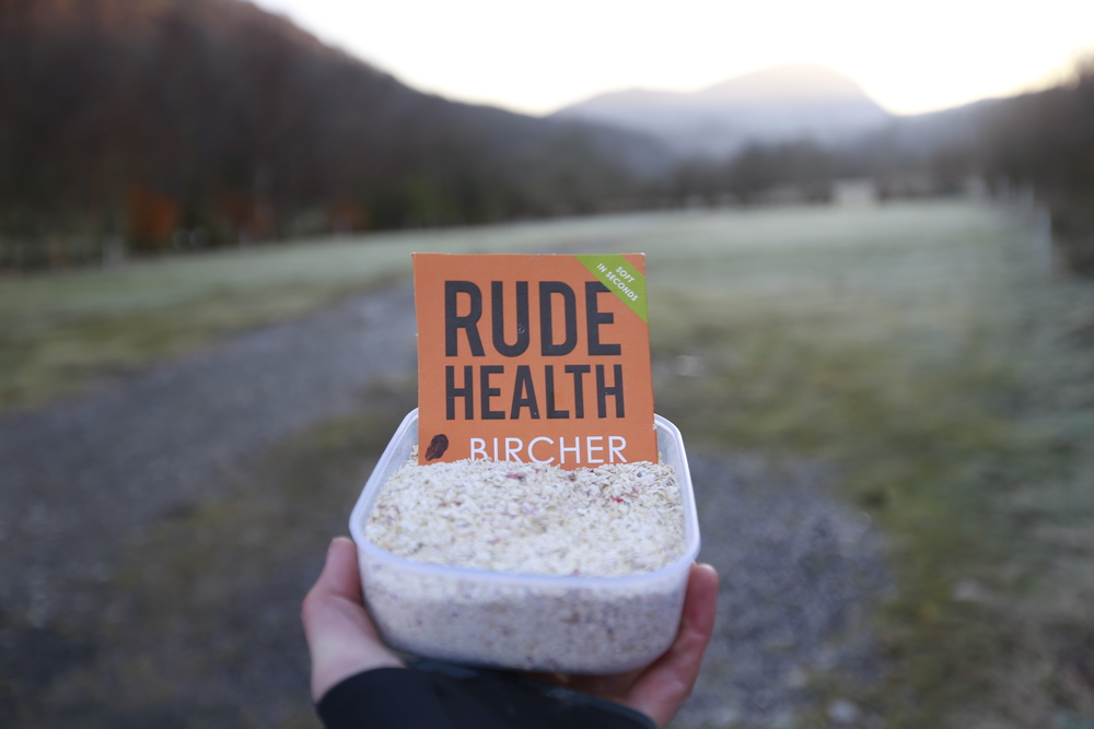 Time for another bowl of Rude Health Bircher.