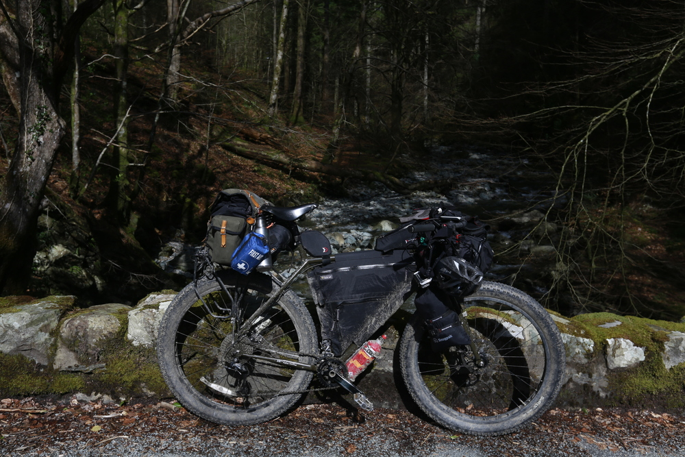 surly, surly ecr, wales, bikepacking wales, bikepacking blog, cycling blog, travel, travel blog, surly bikes, bicycle touring apocalypse, bicycle touring, cycle touring, welsh coast to coast, 29er, fast bike, wildcat gear, revelate designs, revelate designs gas tank, jerrycan,