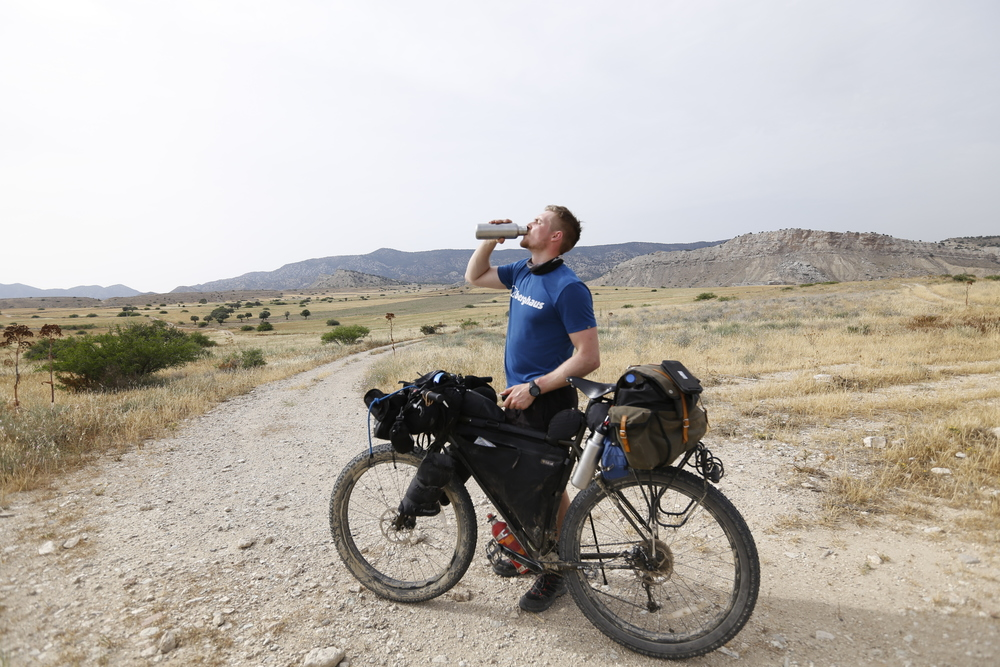 jack macgowan, bicycle touring apocalypse, go north cyprus, surly, surly bikes, surly ecr, steel frame, kyrenia, kyrenia mountains, kyrenia mountain trail, klean kanteen, klean kanteen classic, wildcat gear, trangia, carradice, garmin, garmin edge