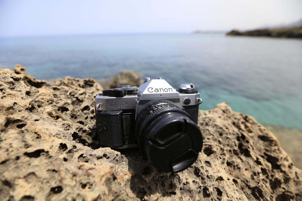 My trusty Canon AE-1...