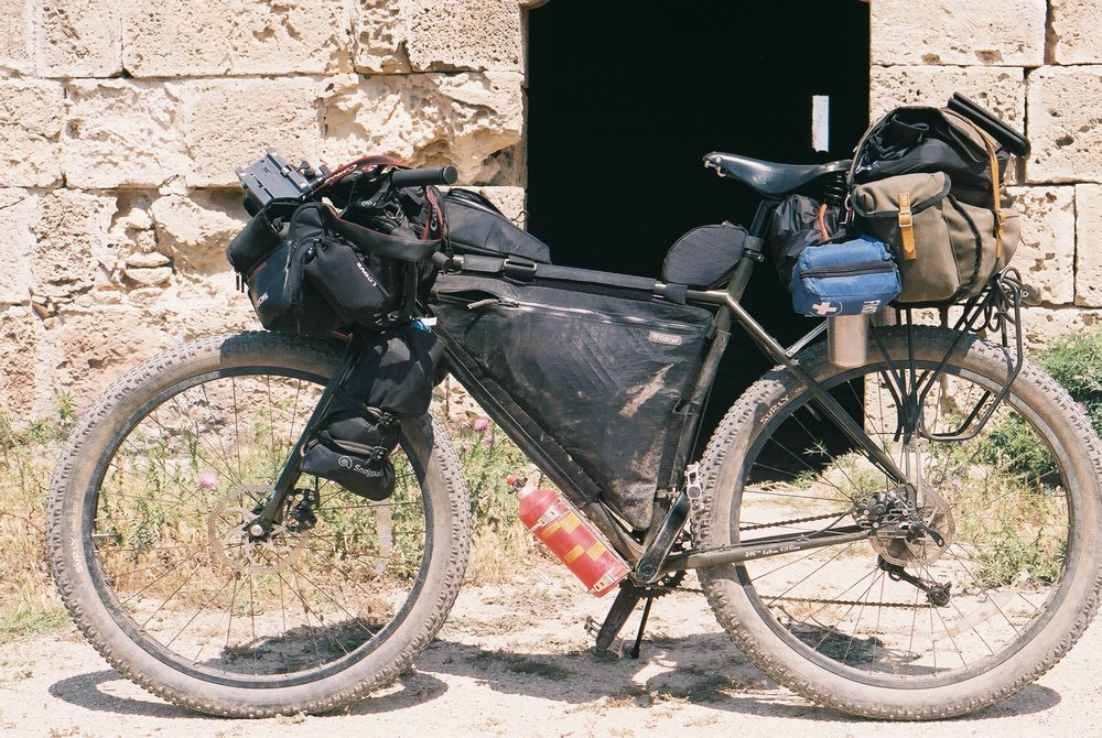 surly, surly bikes, surly ear, ear, bike packing, bikepacking blog, jack macgowan, bicycle touring apocalypse, bicycle touring, 35mm, canon, canon ae1, ae1 film camera, kneads, carradice, wildcat gear, adventure cycling, north cyprus, berghaus, trangia, snugpak dri sak, canon, leica, film photography