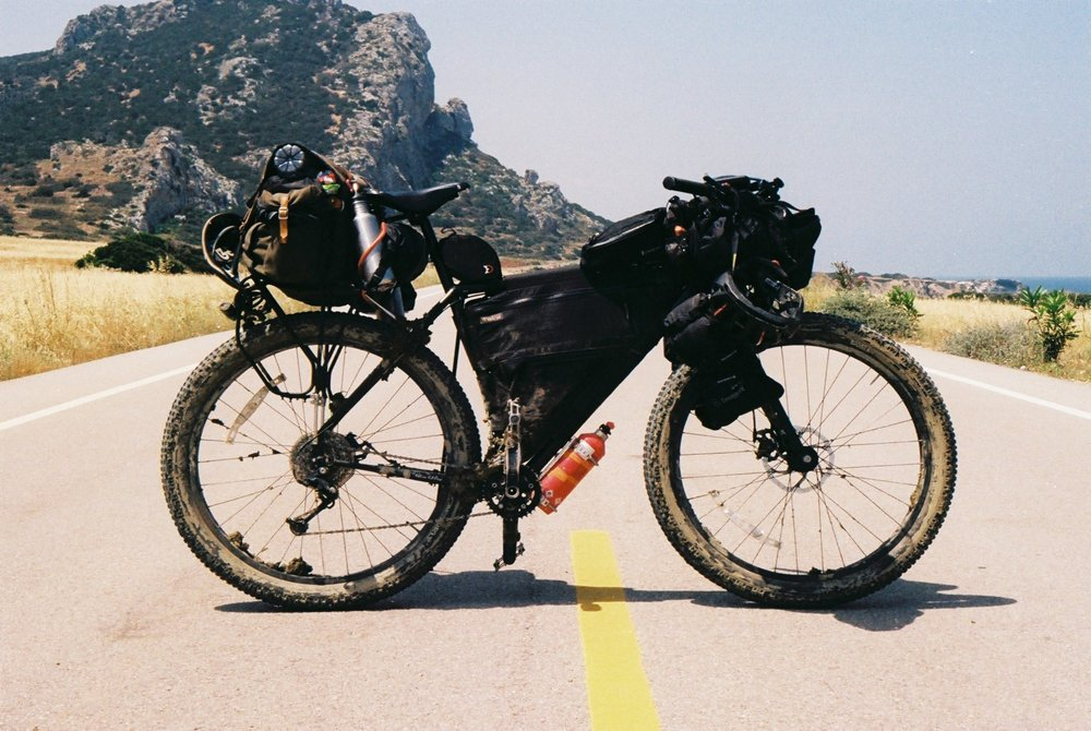 surly, surly bikes, surly ear, ear, bike packing, bikepacking blog, jack macgowan, bicycle touring apocalypse, bicycle touring, 35mm, canon, canon ae1, ae1 film camera, kneads, carradice, wildcat gear, adventure cycling, north cyprus, berghaus, trangia, snugpak dri sak, canon, leica, film photography, kneads, jones h bar, explore,, revelate designs, carradice, carradice longflap camper