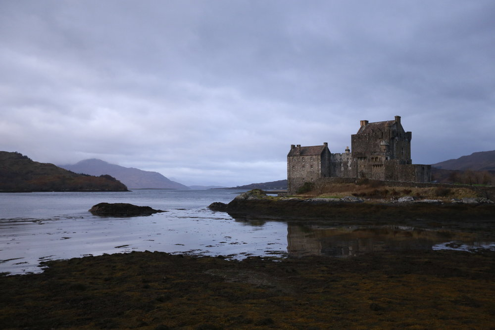 The truly stunning  Eilean Donan shot on my Canon DSLR ( click to zoom ).