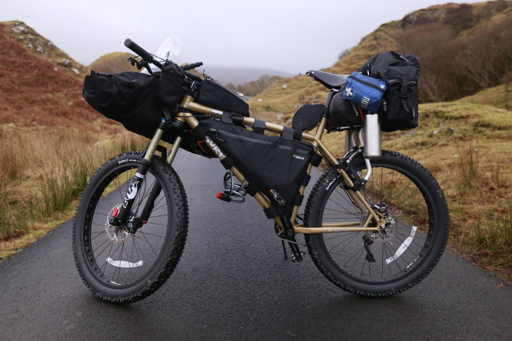 The Wildcat Gear Leopard frame bag was fantastic. Slightly slacker straps allowed for greatly improved capacity, whilst the brand's new cut out top-tube straps make additional bags a breeze.