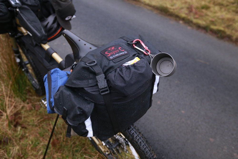The Carradice Super C saddle bag was expectantly superb. I've been using the brand's Longflap Camper for years and was looking forward to road testing another saddlebag from the range. The Super C kept my belongings bone dry despite constant torrential rain and offered a slightly modernised/compact alternative to the Longflap.