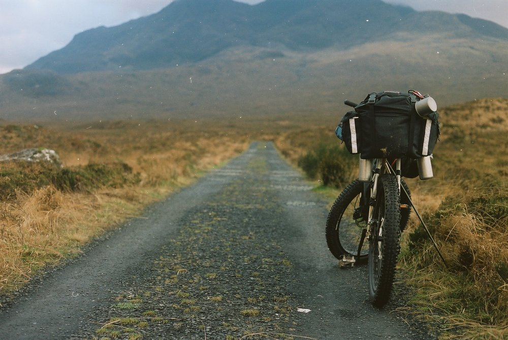 film is not dead, canon, canon ae1, ae1, kodak, kodak film, kodak portra, portra 160, analog photography, film photography, jack macgowan, bikepacking, bikepacking blog, cycling blog, travel photography, travel blog, skye, isle of skye, scottish highlands, bikepacking scotland, bicycle touring apocalypse, surly, surly bikes, surly instigator, instigator