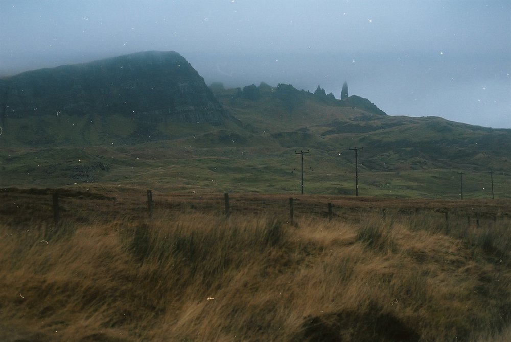 isle of skye, skye, scotland, scottish highlands, highlands, bicycle touring apocalypse, kodak, kodak portra, jack macgowan, bikepacking, bikepacking blog, bikepacking skye, surly, surly bikes, the old man storr, film photography, analog photography, film is not dead, bicycle touring, jack macgowan