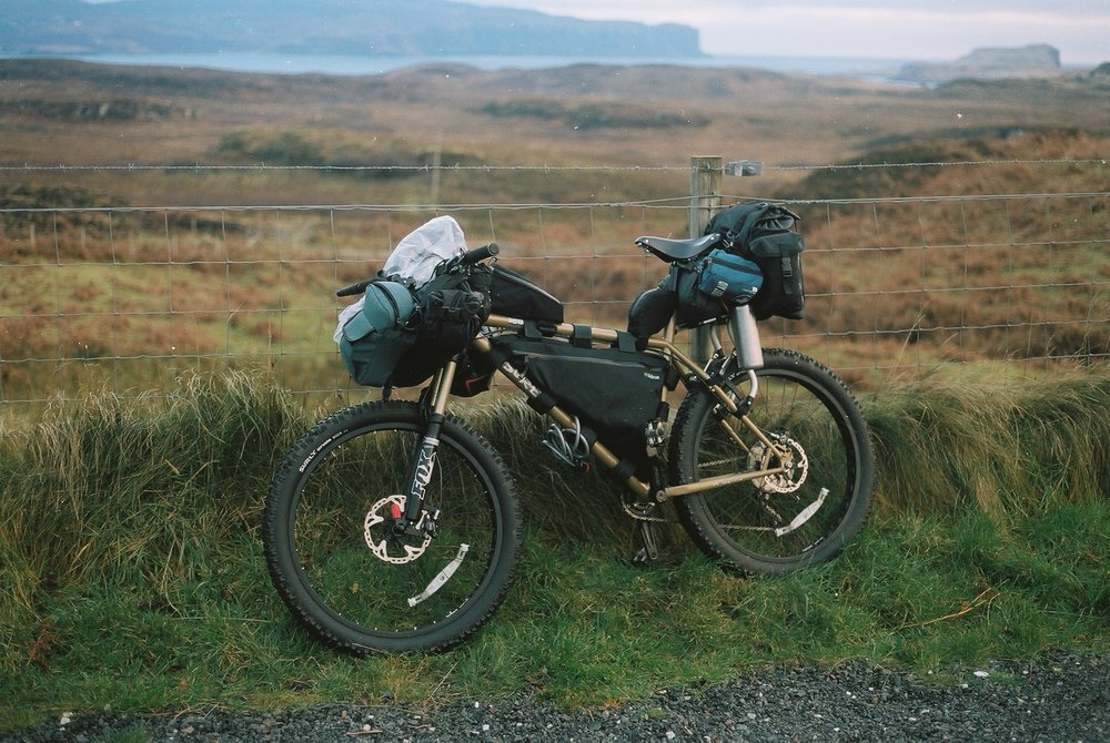 film is not dead, canon, canon ae1, ae1, kodak, kodak film, kodak portra, portra 160, analog photography, film photography, jack macgowan, bikepacking, bikepacking blog, cycling blog, travel photography, travel blog, skye, isle of skye, scottish highlands, bikepacking scotland, bicycle touring apocalypse