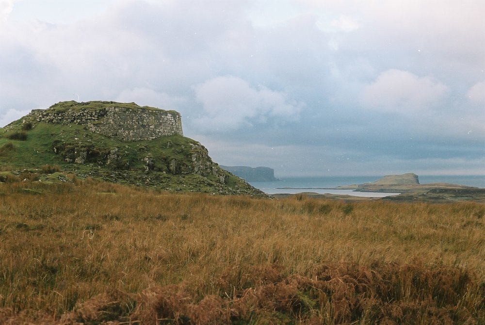 Dun Beag is an Iron Age broch with stunning views.