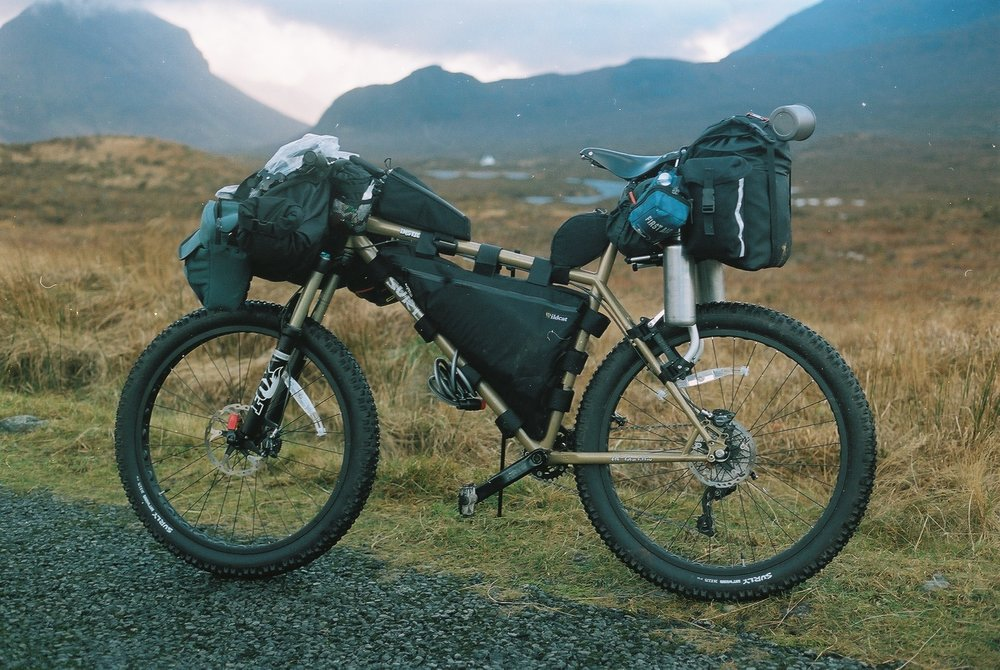 bikepacking, bikepacking blog, surly, surly instigator, instigator, instigator 2.0, FOX, wildcat gear, carradice, jack macgowan, explorer, bicycle touring, bicycle touring blog, professional explorer, klean kanteen, 35mm, film, film is not dead, leica, canon, canon ae1, brooks, brooks saddles, dirt wizard, dirt wizard tyres, thule, thule bike rack, fat bike, surly, surly bikes, travel writer, revelate designs,