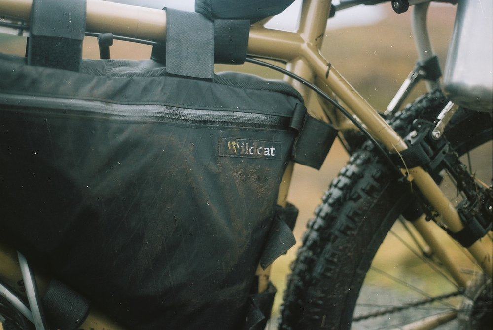 My Wildcat Gear Leopard frame bag was flawless.