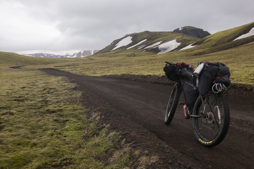 bikepacking, bikepacking blog, bikepacking gear, bikepacking routes, bicycle touring, bicycle touring blog, bicycle touring apocalypse, cyclist, jack mac, jack macgowan, van life, surly, surly bikes, 29er, fat bike, iceland, visit iceland, Laugavegur, Laugavegur hiking trail, wildcat gear, rvelate designs, atm handmade goods, j paks, j paks farvapak, trangia, car sick designs, car sick designs handee randee