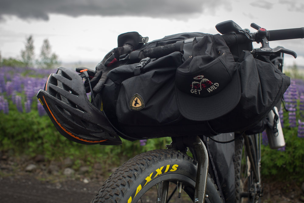 Once again the   Car Sick Designs Handee Randee   proved itself as one of the best bikepacking bags on the market during my Icelandic adventure.  See my full review   here  ...