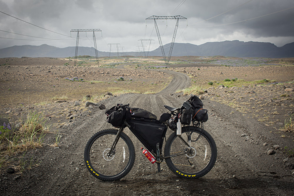 bikepacking, bikepacking blog, bicycle touring, bicycle touring blog, jack mac, jack macgowan, bicycle touring apocalypse, travel, travel blog, blogger, surly, surly bikes, fat bike, 29er, maxxis, car sick designs, atm handmade goods, j paks, wildcat gear, carradice, carradice super c, iceland, visit iceland, glaciers, berghaus, blacks outdoors