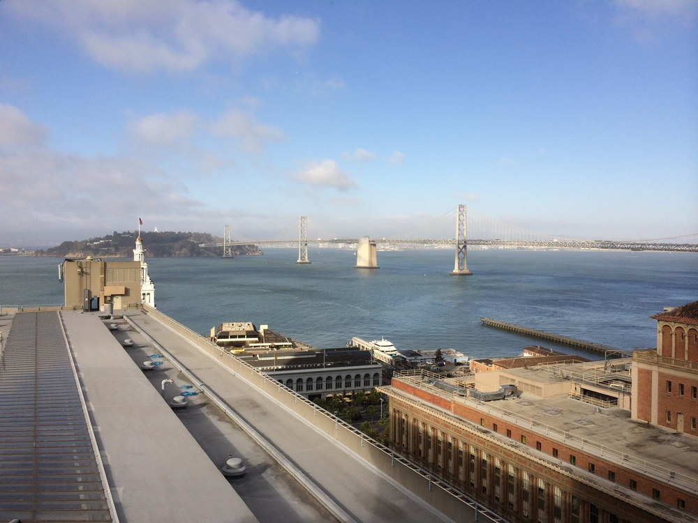 Another view of the Bay Bridge from the Regency Club