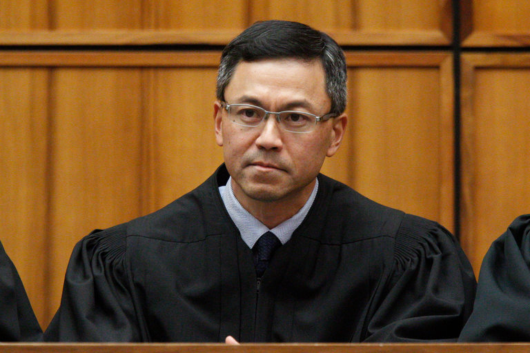 Judge Derrick K. Watson in Honolulu in 2015. Credit George F. Lee/The Star-Advertiser, via Associated Press
