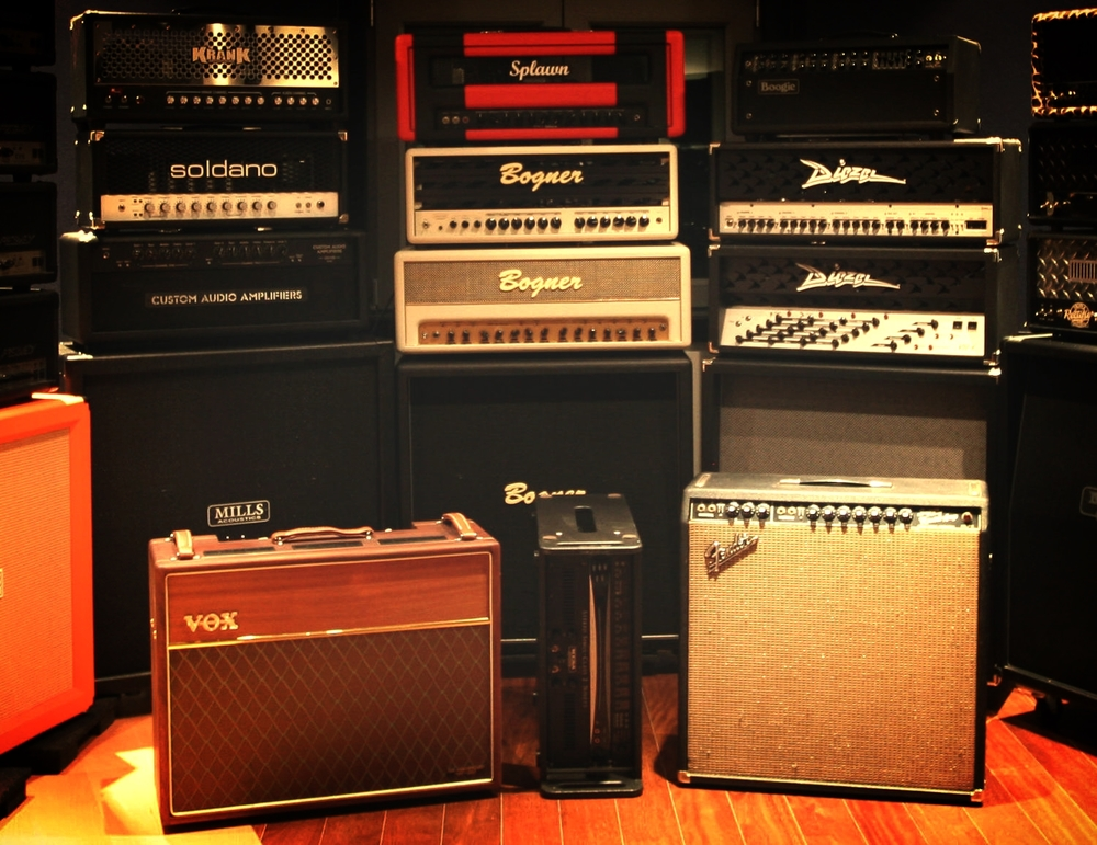 Ours go all the way  To Eleven!   Shop Amps