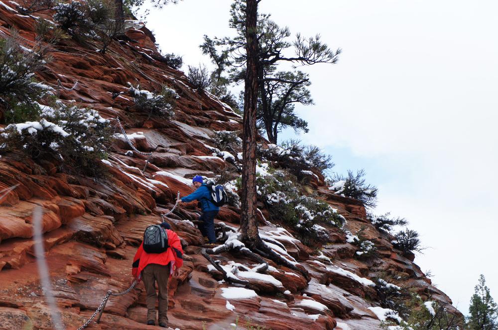 ice + climbing = crazyl.