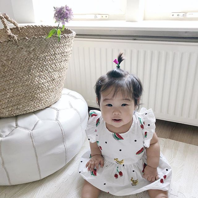 My chubby bunny is already 7 months! Feel so blessed to have her in our lives. The house is always a mess and I have throw up somewhere on me about 90% of the time. But I want to post again! She's just too cute 🤗