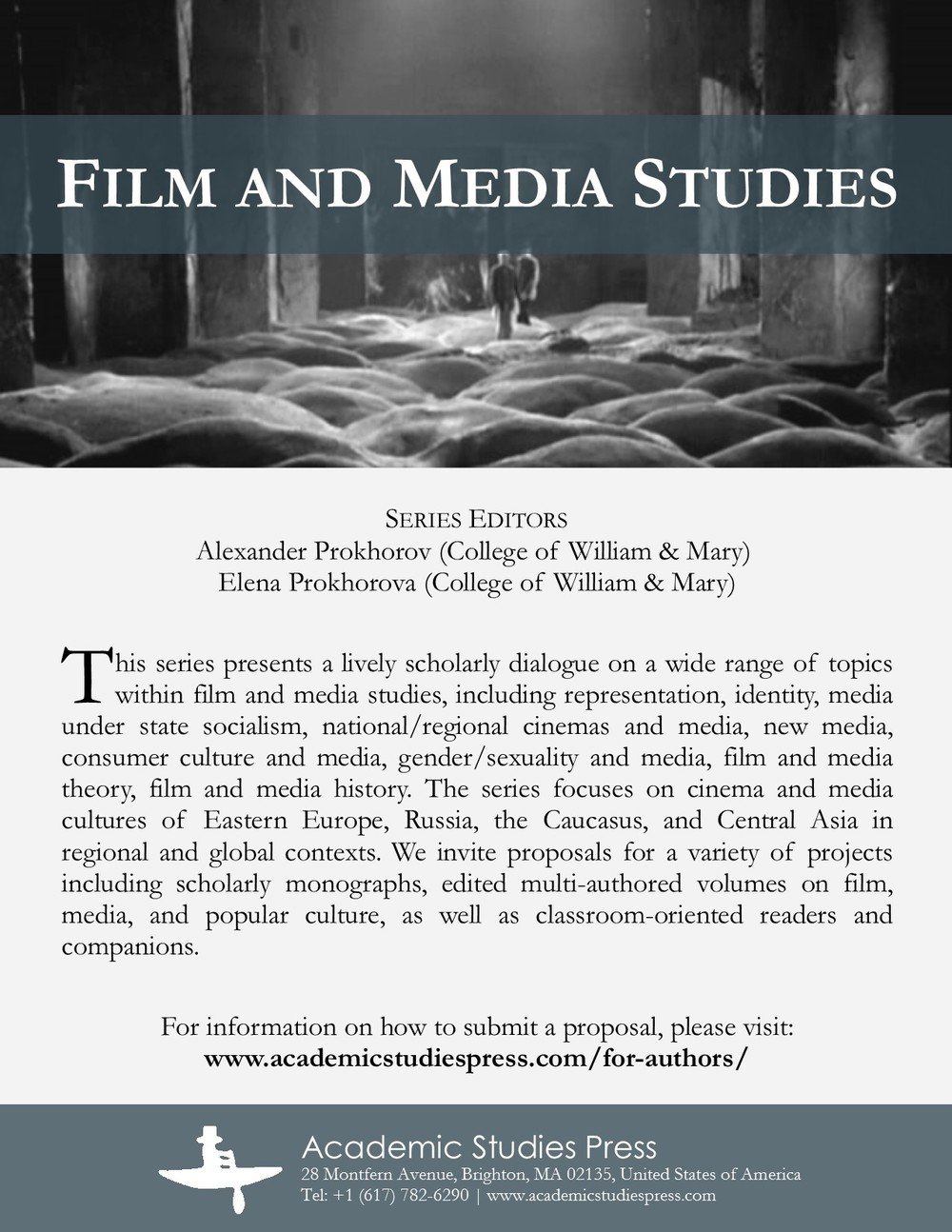 Film and Media Studies Series Flyer