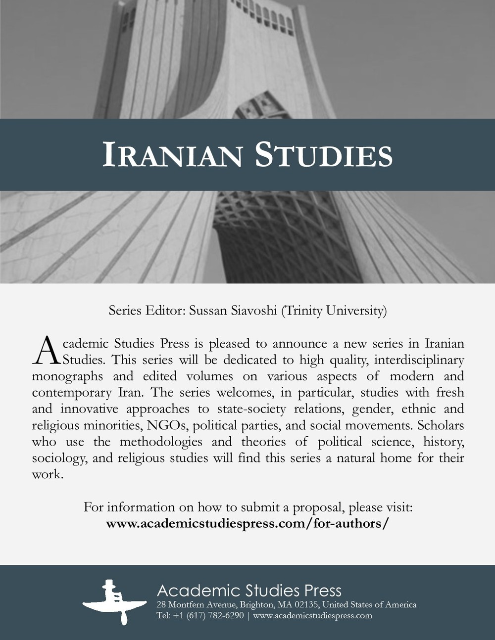 Iranian Studies Series Flyer