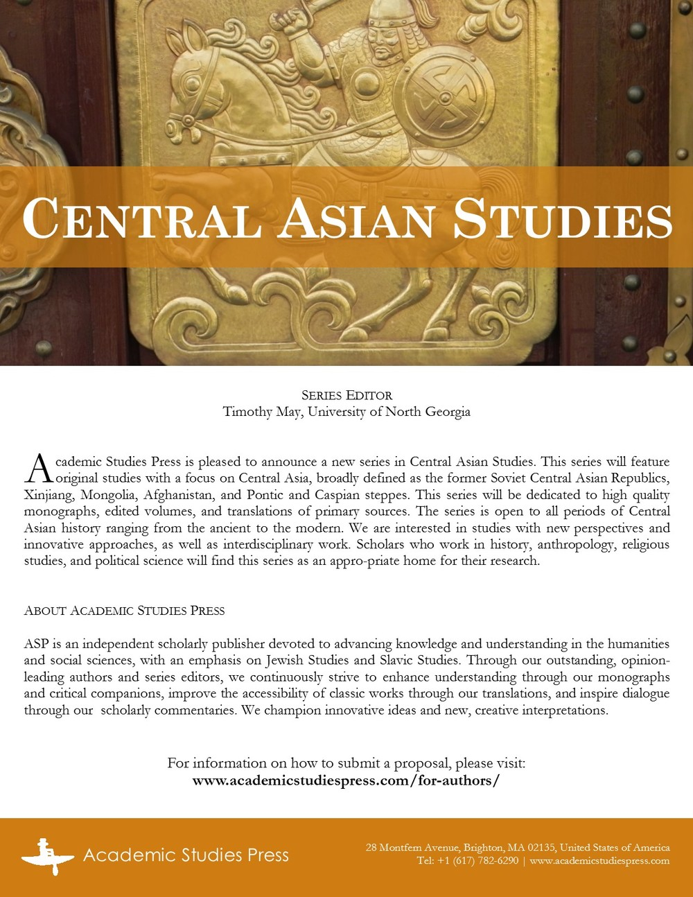 Central Asian Studies Flyer