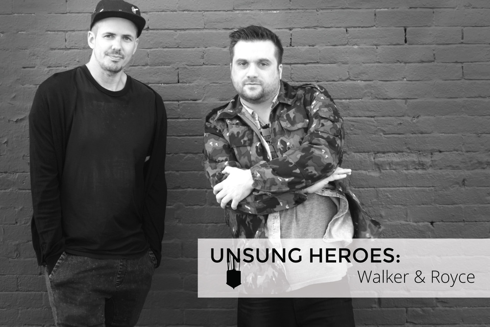 Sam Walker (left) & Gavin Royce