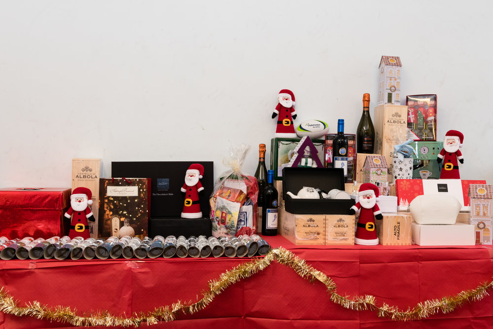 聖誕節豐富的獎品!