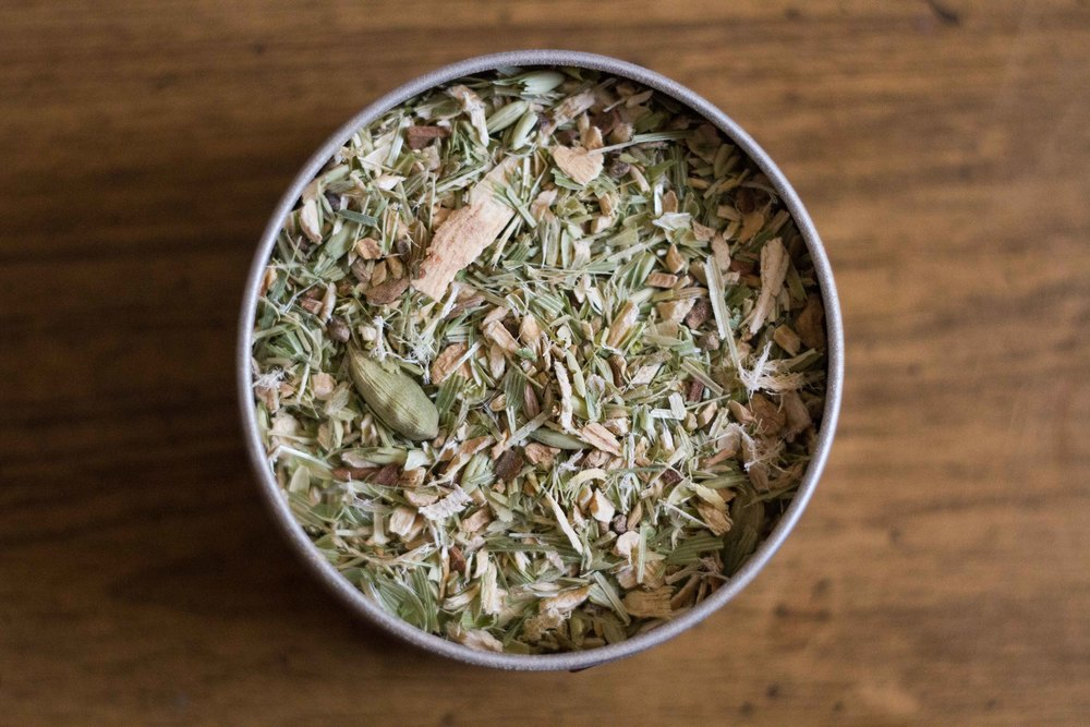 Our Chai blend is one of our many  tasty teas