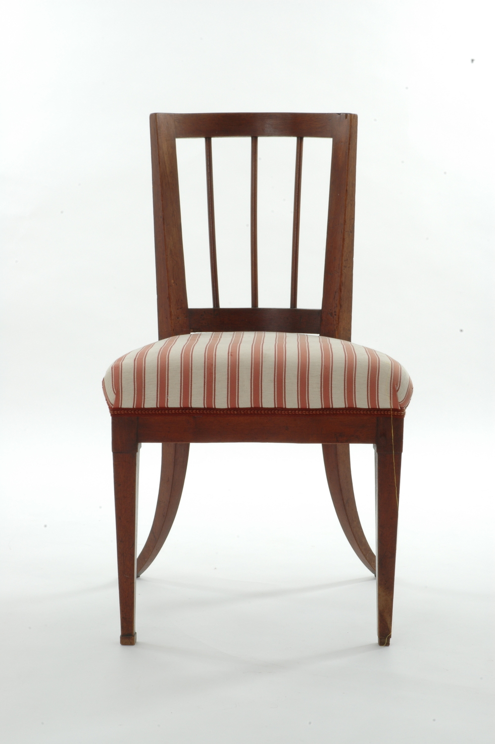 An Early 19t C. Biedermeier Chair From Noble Provenance