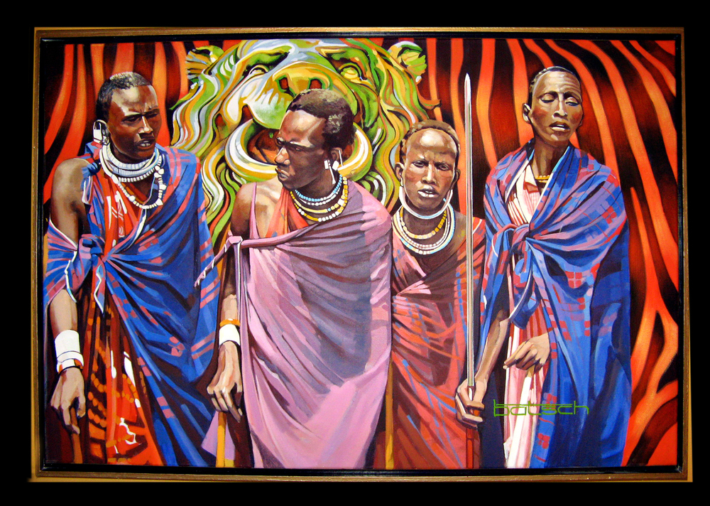 Maasai Warriors Private Collection