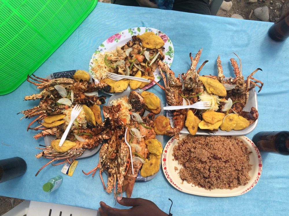 Worlds best Creole Seafood, Jacmel, Haiti
