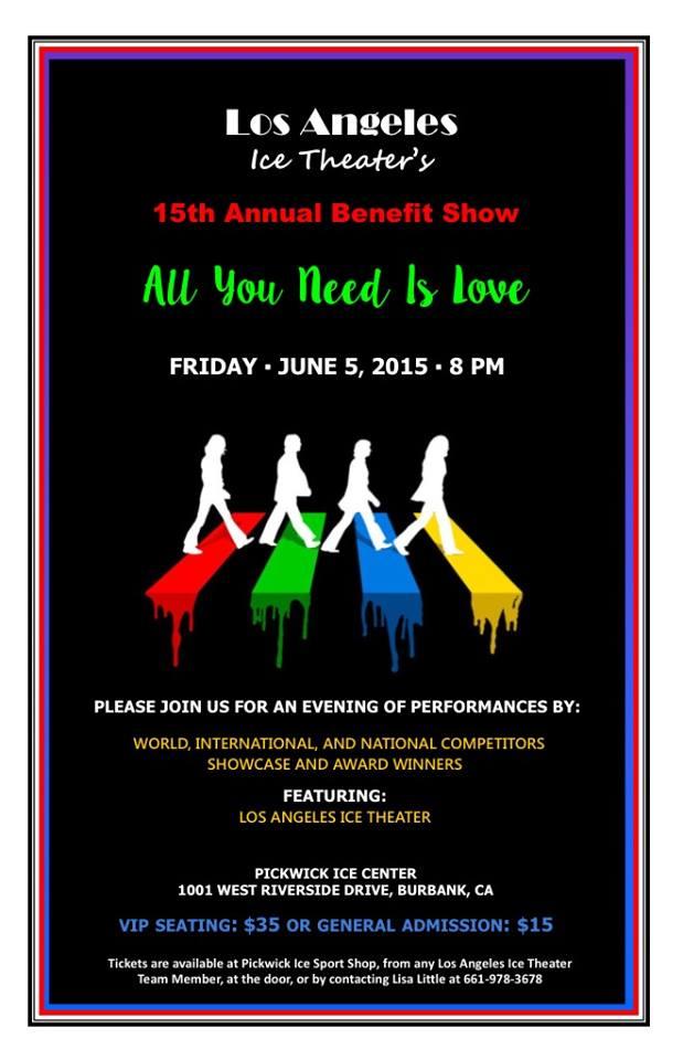 June 5th @ 8:00pm 15th Annual Benefit Show