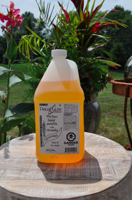 Citronella Paraffin Fuel-1 Gallon Bottle (GCI)