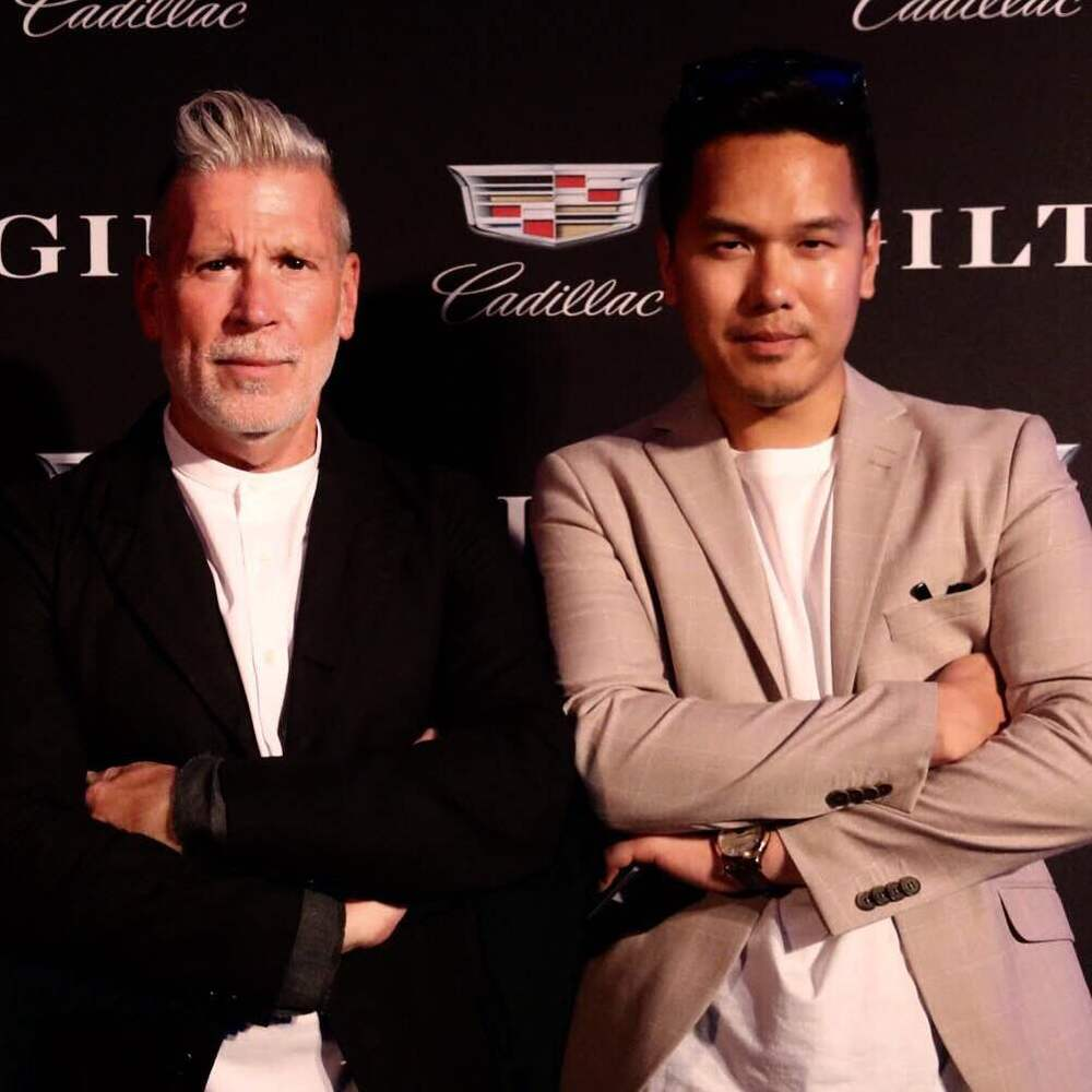 Nick Wooster & Todd Hessert (GFR Fashion Director)