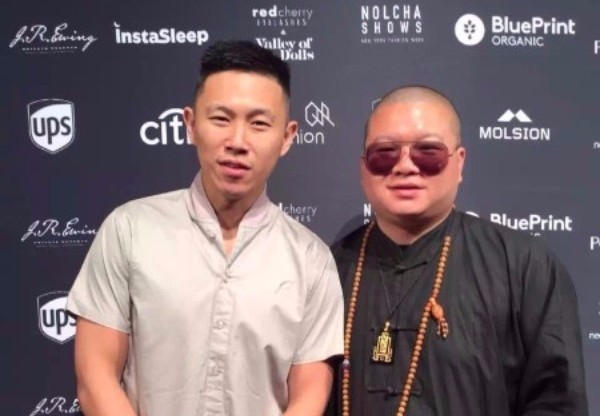 Singer MC JIN and FEI LIN (CEO of SONGFEI JEWELRY)