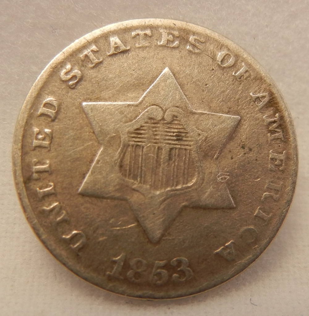 Browse our inventory of Two and Three Cents
