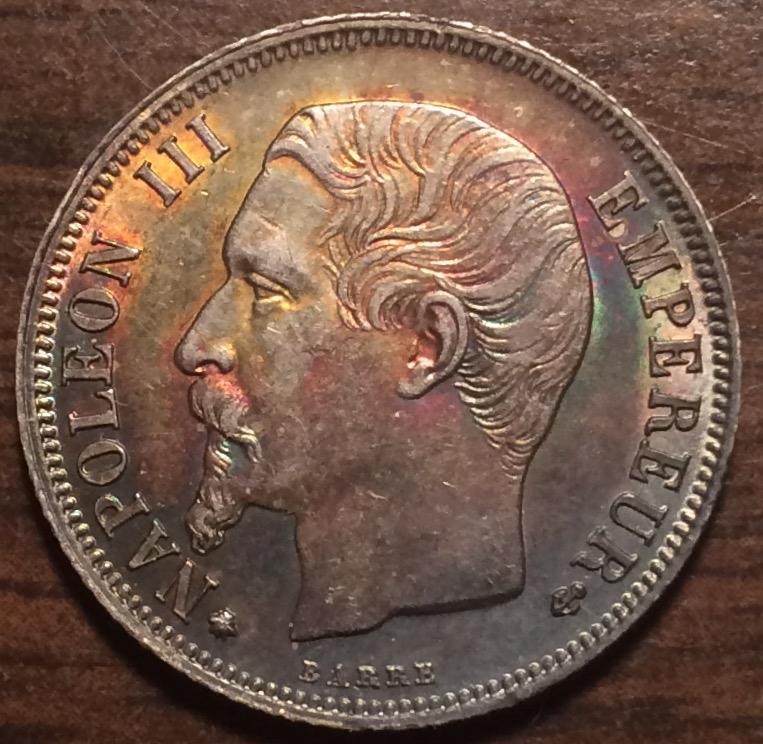 1856-BB French Napoleon III One Franc — American Heritage Minting, Inc