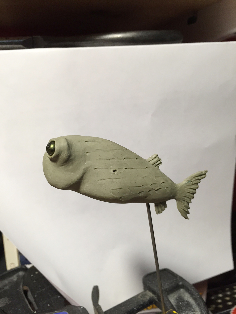 Model for the school of fish characters.