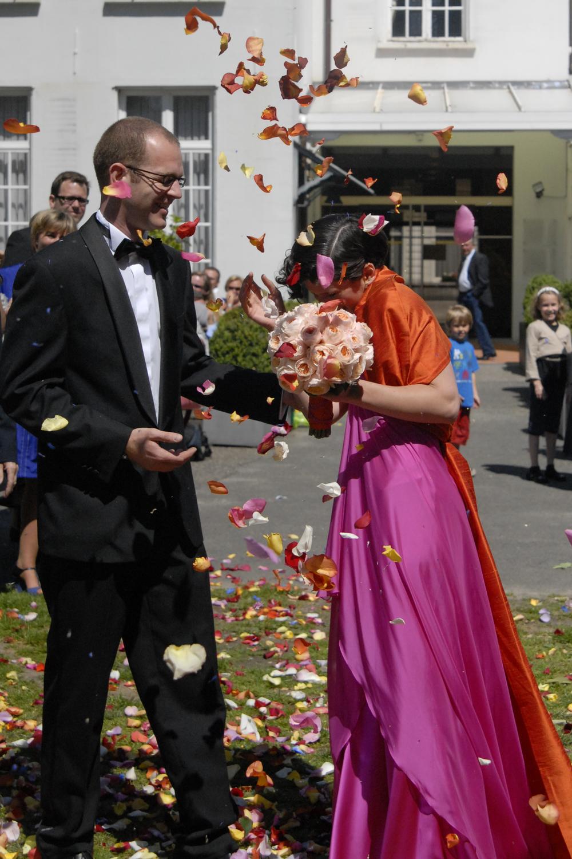 Bloemendecoratie huwelijk - Degrootebloemen.be