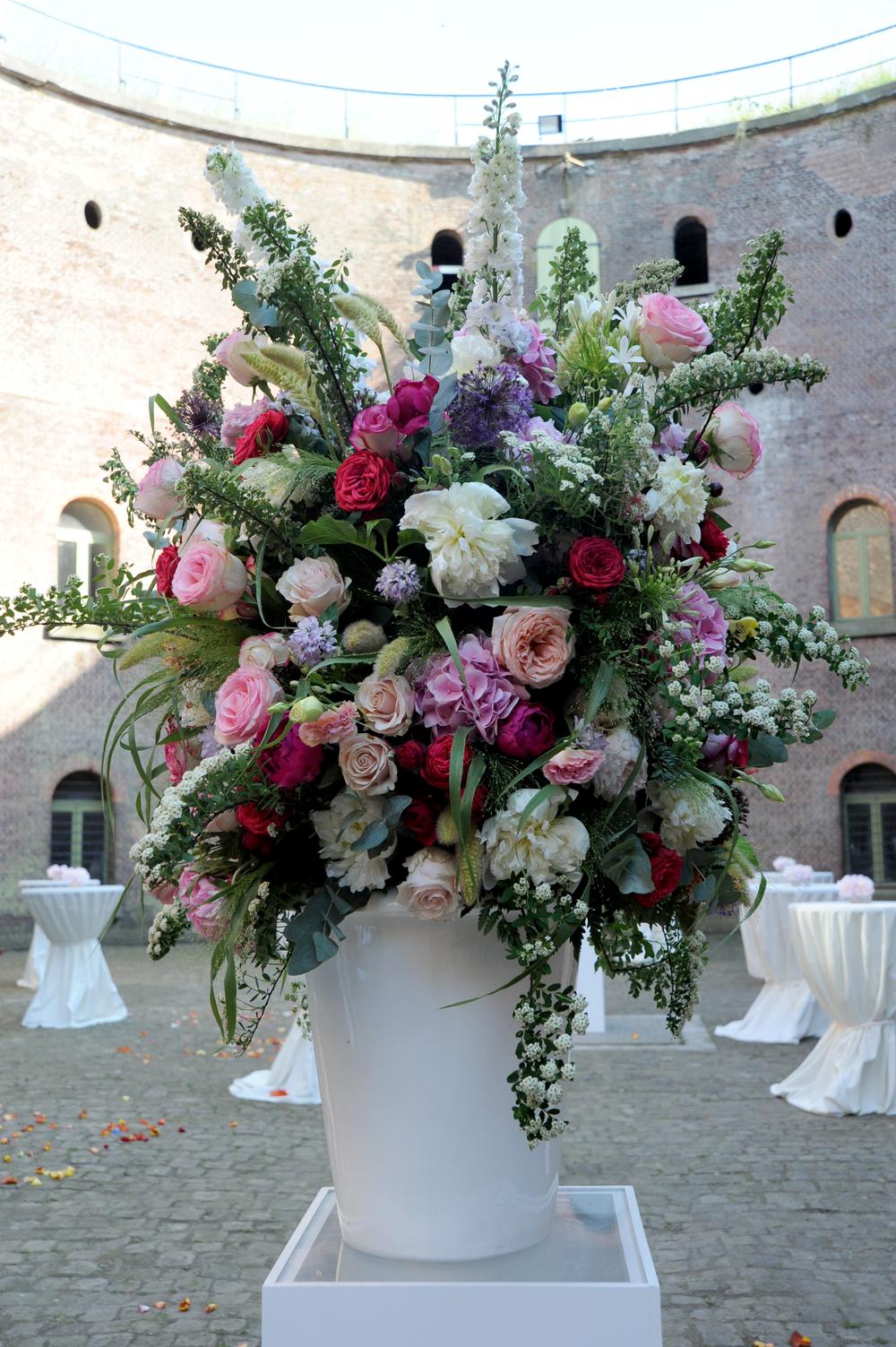 Bloemendecoratie huwelijk - Studioaccu.be