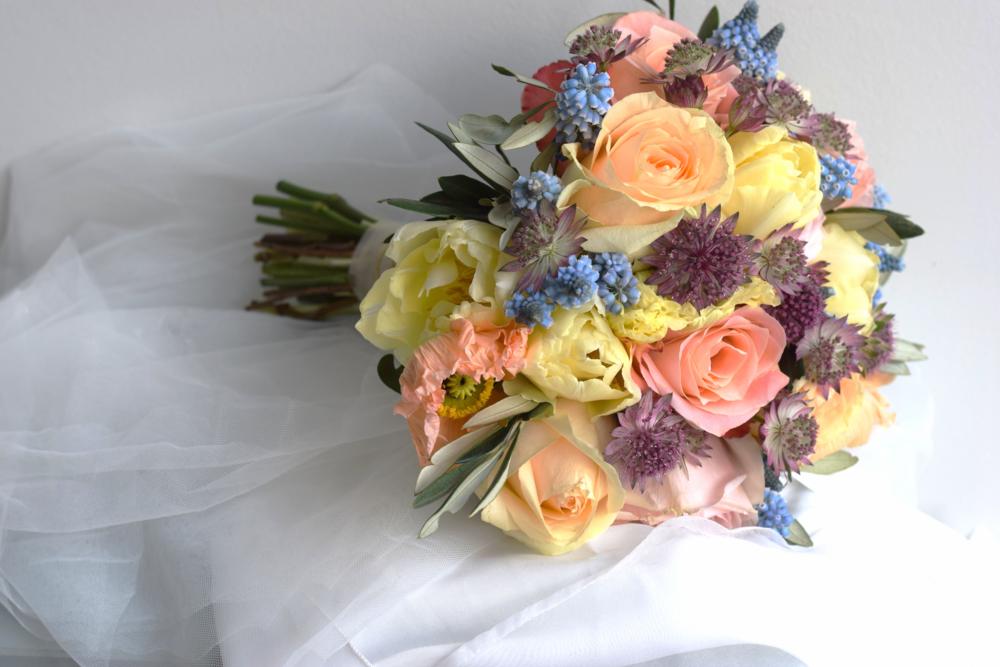 Bruids bloemenwerk - Degrootebloemen.be