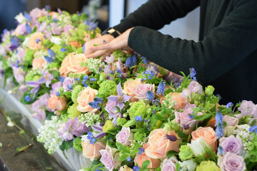 Bloemen uitvaart - Degrootebloemen.be
