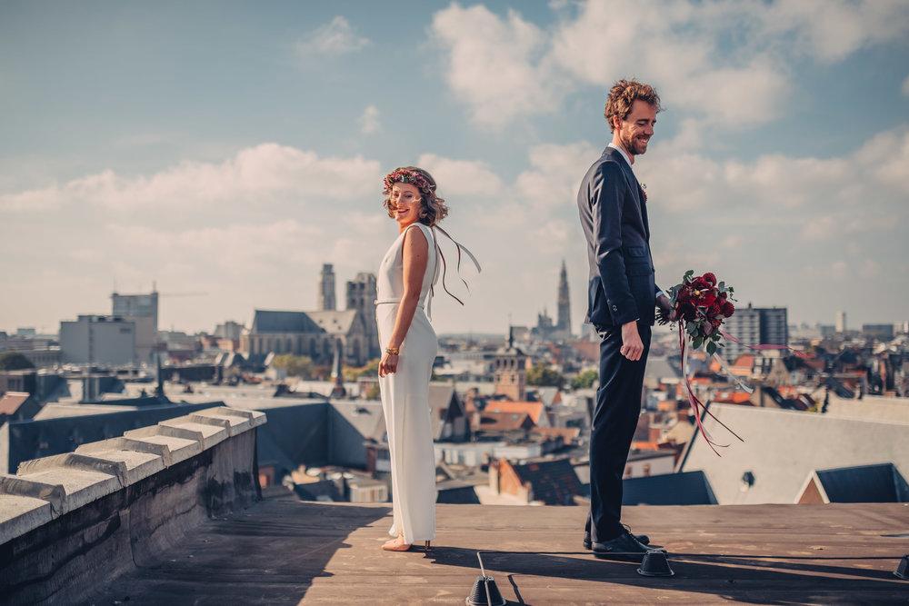Kris Van De Sande - Bloemen huwelijk - Degrootebloemen.be